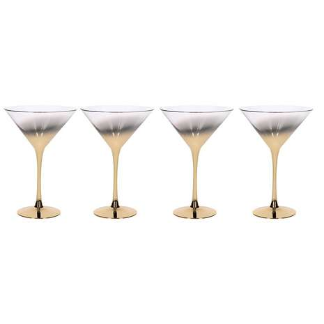 Ombre cocktail glasses from Dunelm