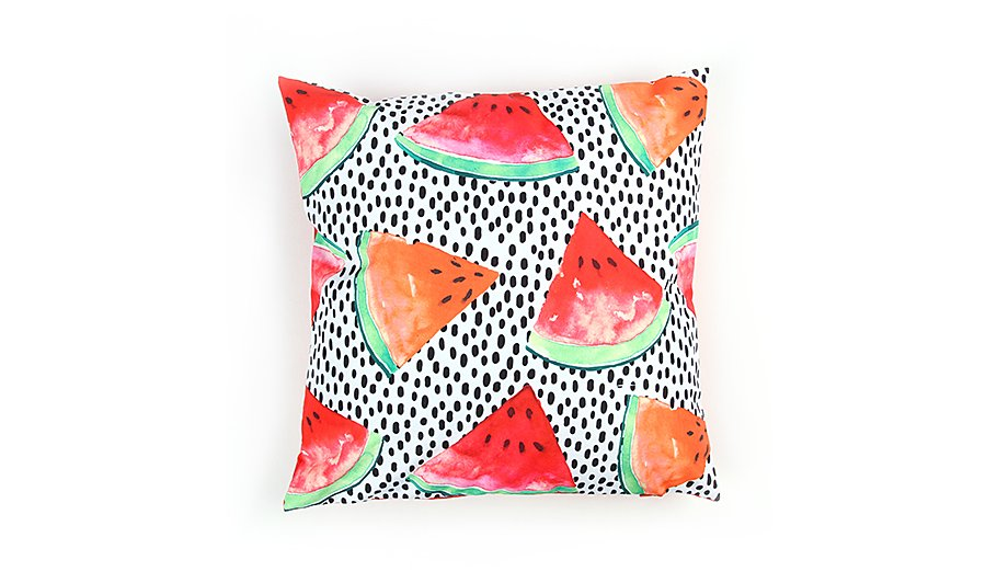 Watermelon cushion from Asda