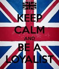 Loyalist Diaspora, Loyalists at Home -