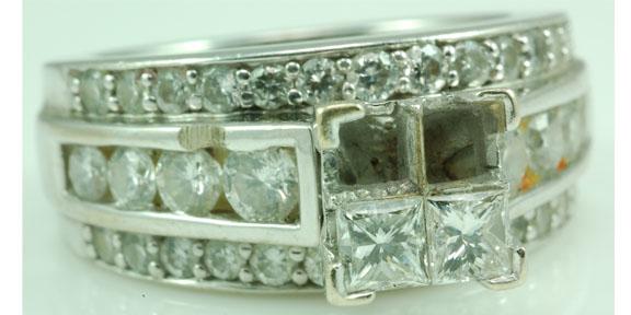 Ring repair: Before