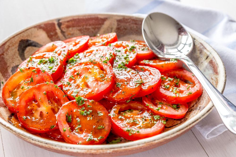 Low-FODMAP Tomato Salad - (Salade de Tomates)
