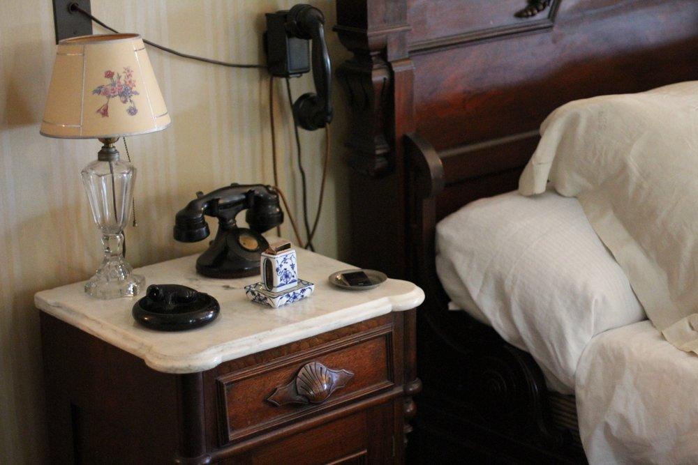 FDR's nightstand.