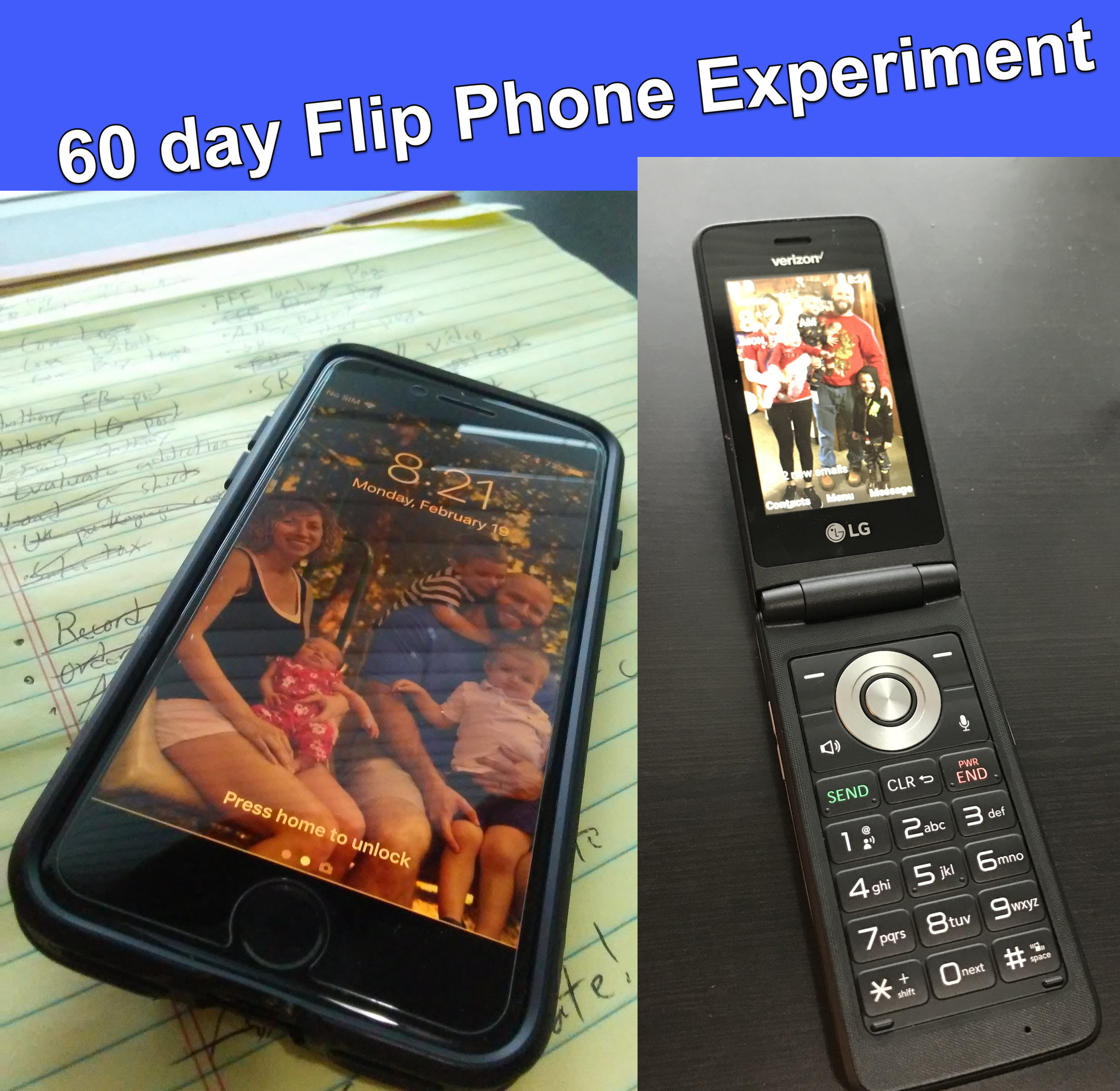 Why and How to try a Flip Phone in 2018 — Fatherhood