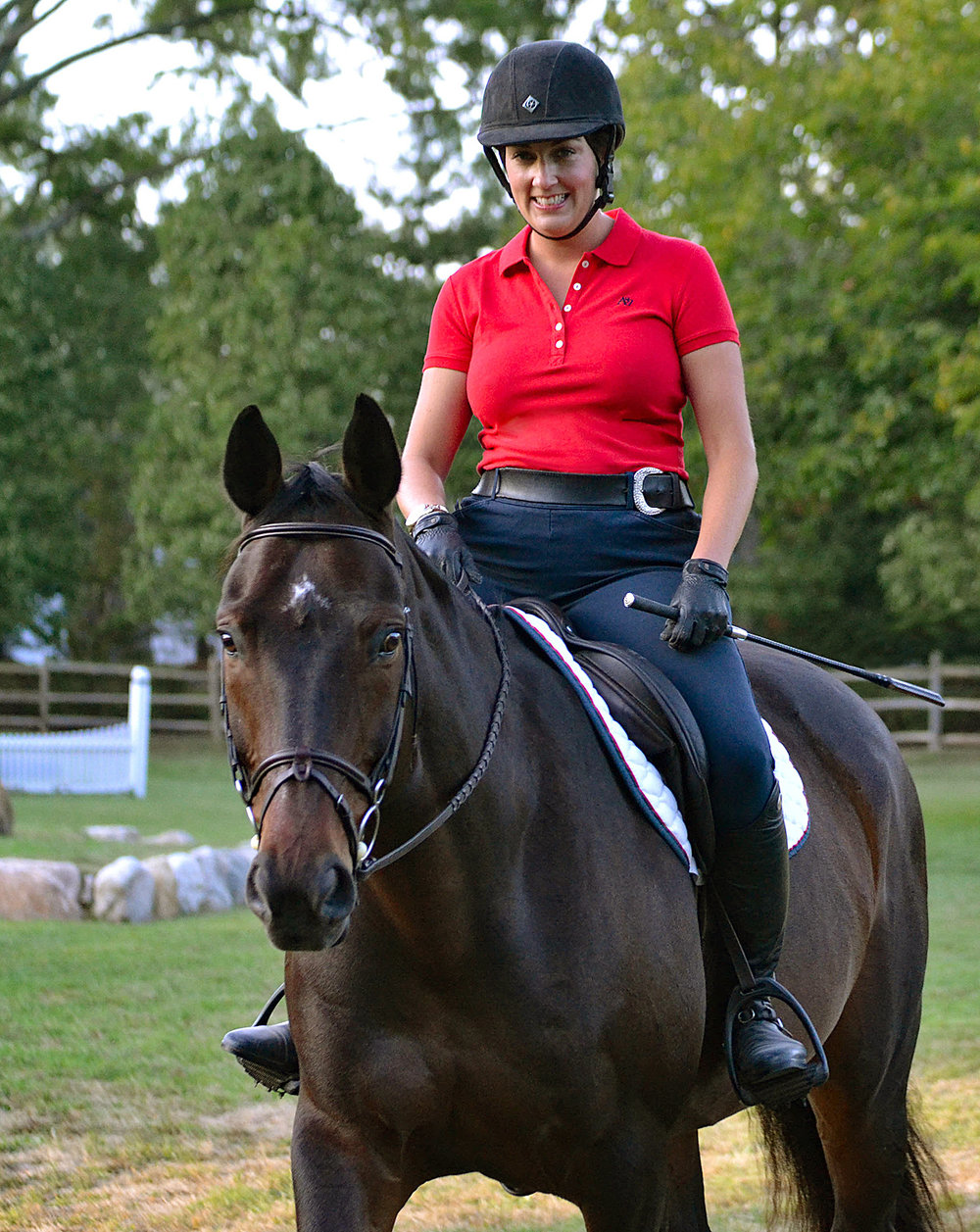 Lucia Rittenhouse-Montes, Head Trainer at Rockleigh Equestrian Centre