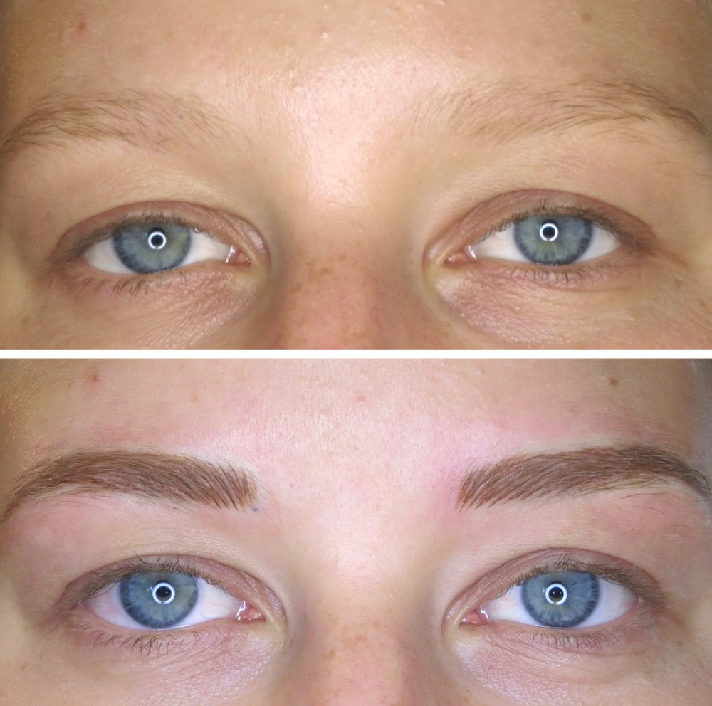 Feather Stroke Brows Bellametrics