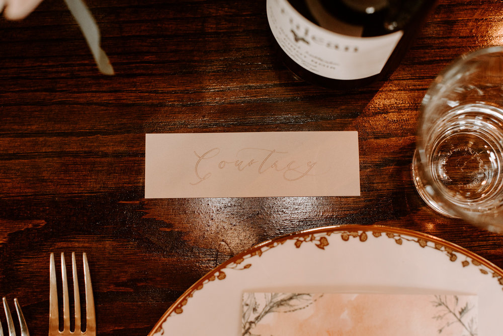 Copy of Copy of Wedding Place Card, Wedding Details
