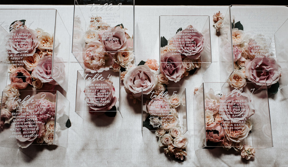 Copy of Copy of Wedding Table Assignments, Decor, Details