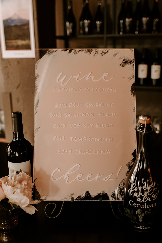 Copy of Copy of Wedding Signage