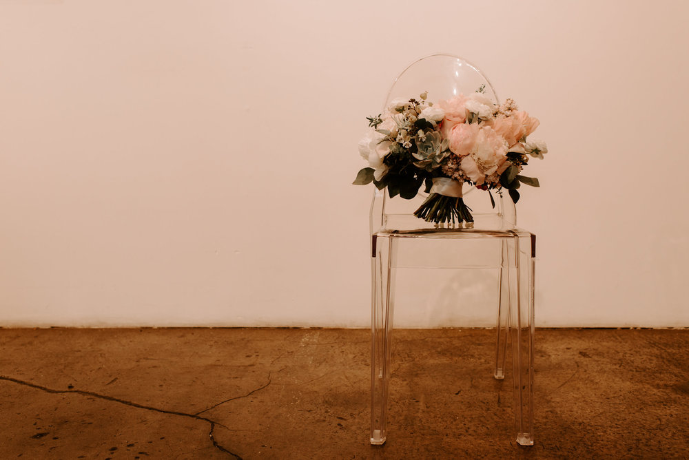 Copy of Copy of Wedding Details: Ghost Chairs and Wedding Floral