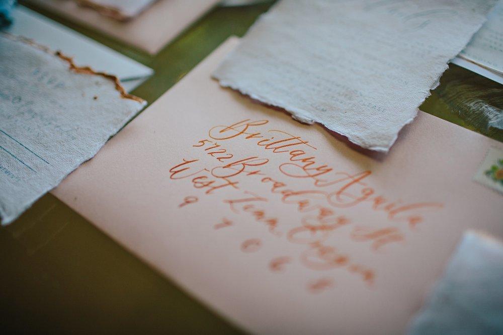 Copy of Summer Garden Wedding: Invitation