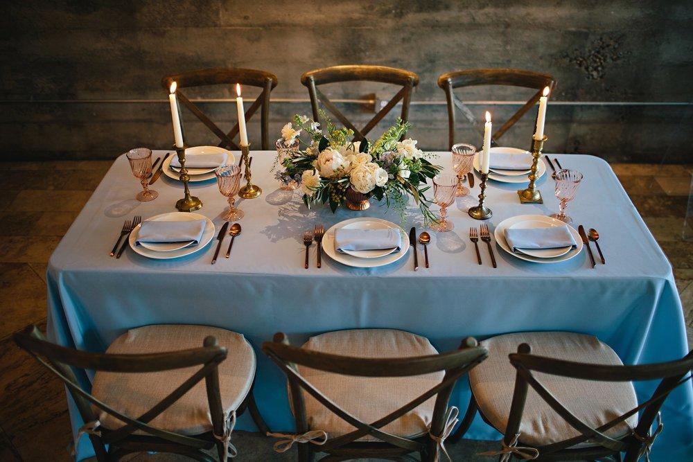 Copy of Summer Garden Wedding: Tabletop