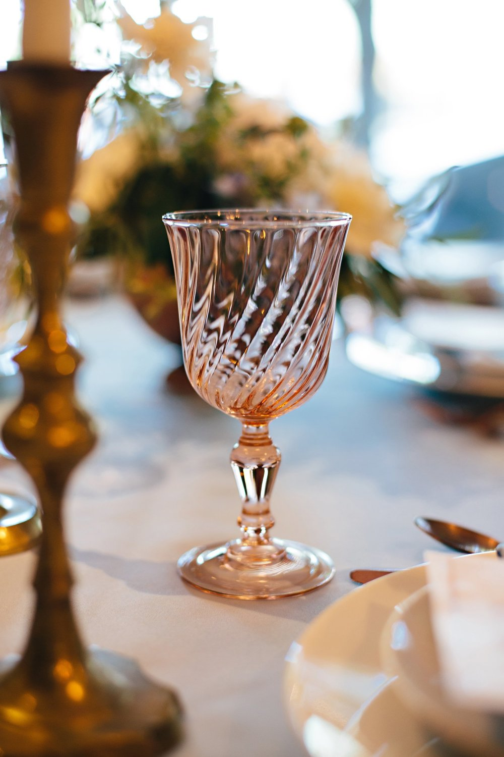 Copy of Summer Garden Wedding: Tabletop Details