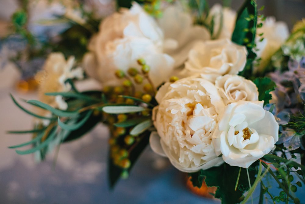 Copy of Summer Garden Wedding: Tabletop Floral