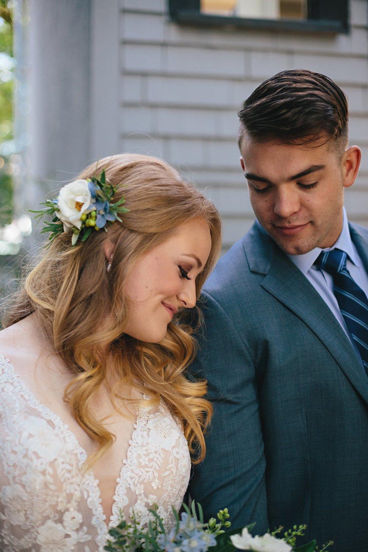 Copy of Summer Garden Wedding: Bridal hairpiece