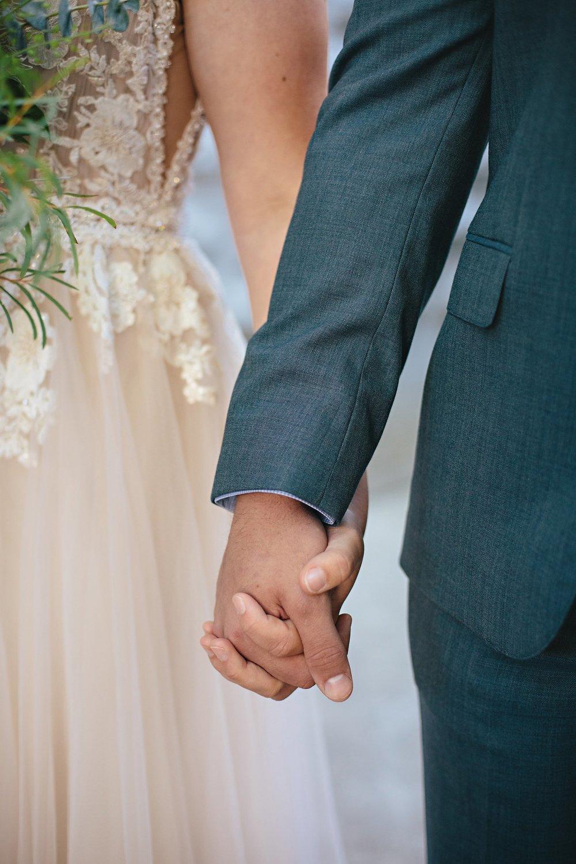 Copy of Summer Garden Wedding: Couple