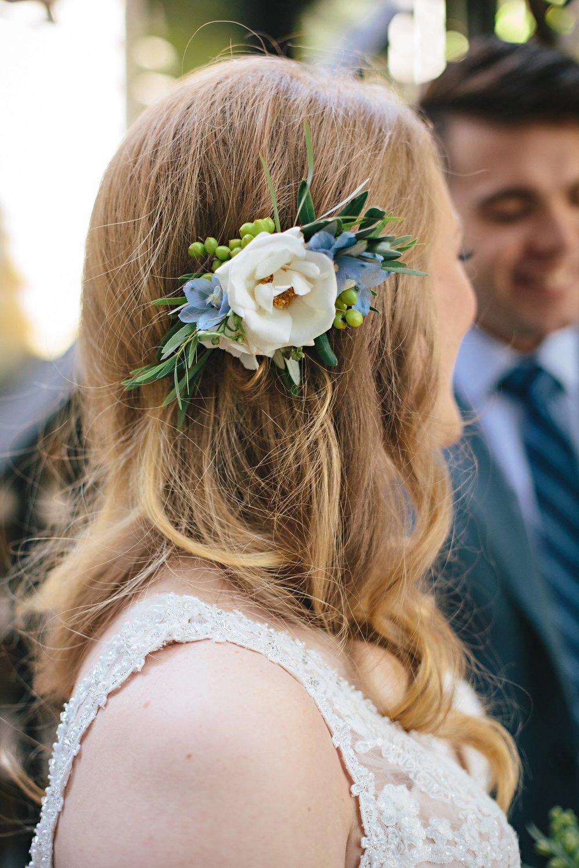 Copy of Summer Garden Wedding: Bridal Hair Piece