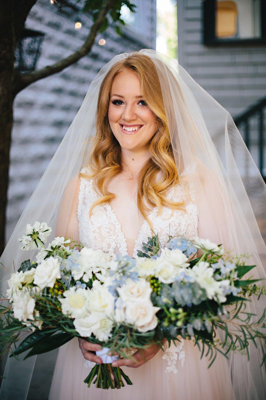 Copy of Summer Garden Wedding: Bridal Portrait