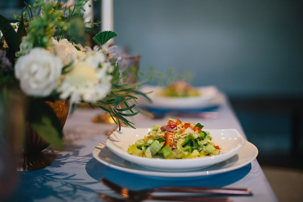 Copy of Summer Garden Wedding: Garden Salad