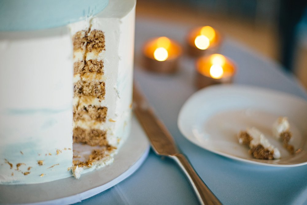 Copy of Summer Garden Wedding: Wedding Cake