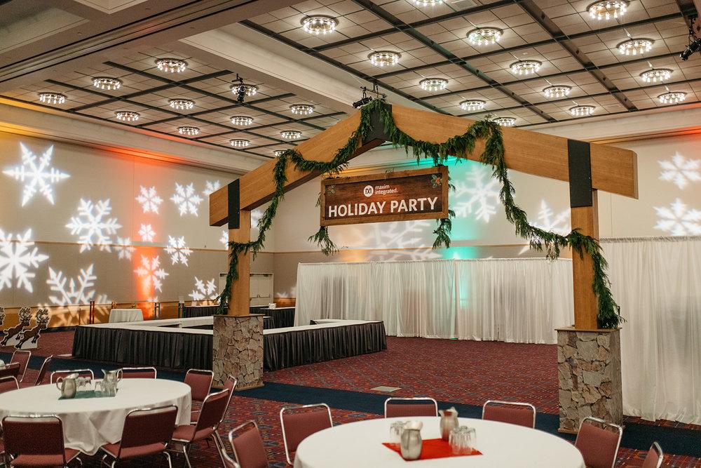 Maxim Integrated Holiday Party: Santa's Workshop