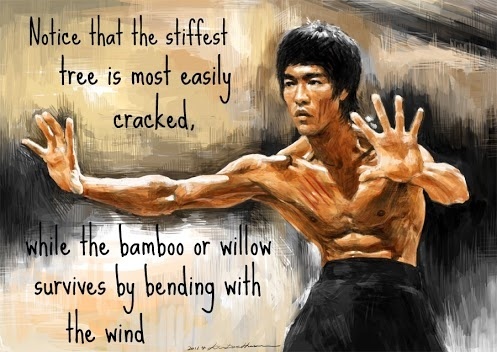 Thanks Bruce Lee
