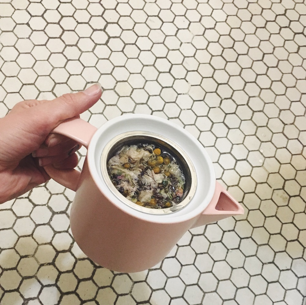 homemade herbal tea blend