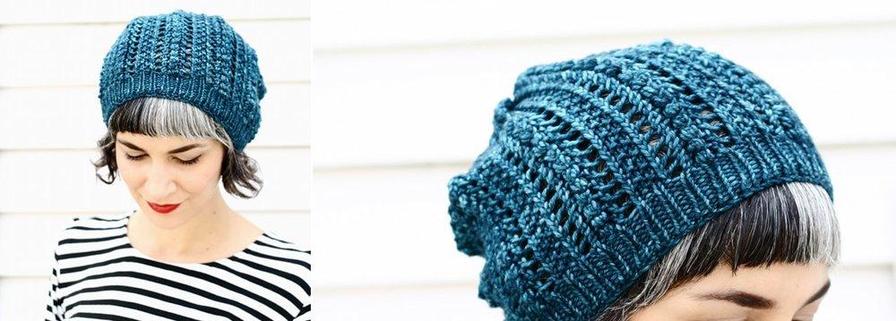 Popcorn Lace Hat Pattern Lavanya Patricella