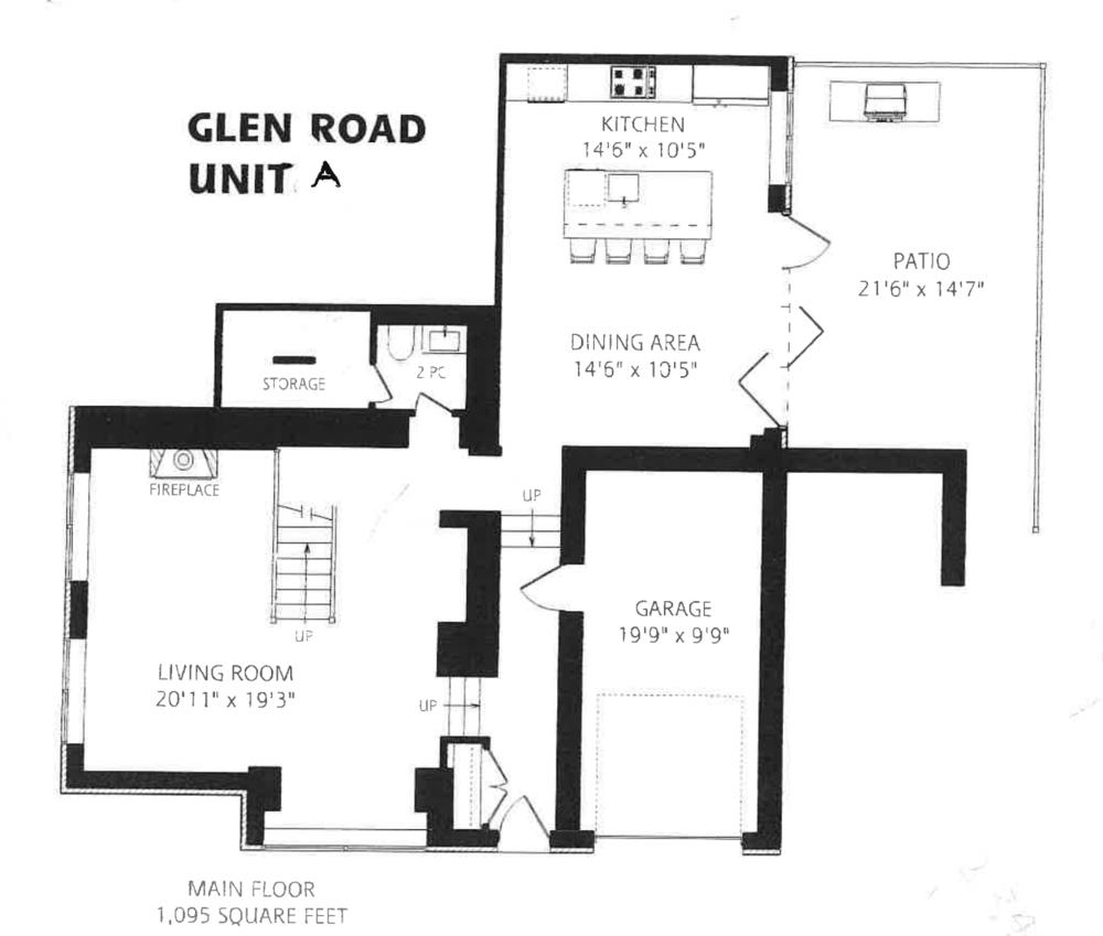 99 Glen Rd Unit A floorplan 1.png