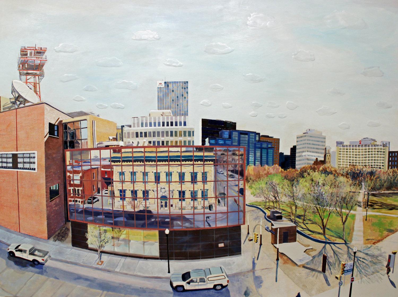 Heather Cline | Downtown — Slate Fine Art Gallery