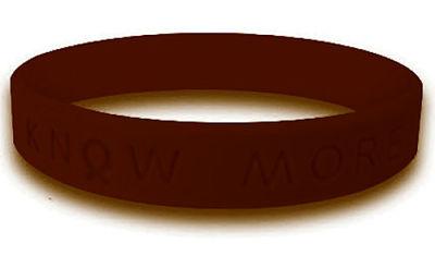 Brown Awareness Bracelet