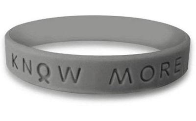 Gray Awareness Bracelet