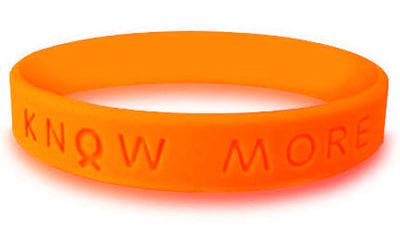 Orange Awareness Bracelet