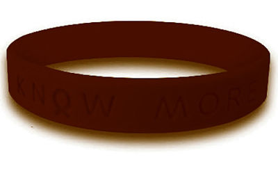 Brown Awareness Bracelet