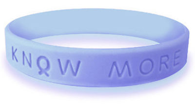 Periwinkle Blue Awareness Bracelet