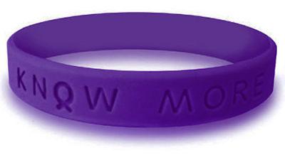 Violet Awareness Bracelet