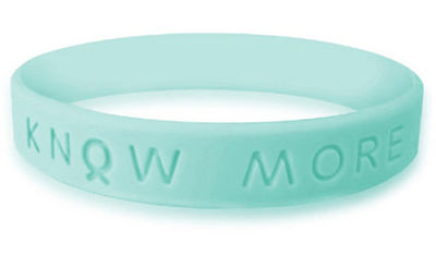 Sea Green Awareness Bracelet