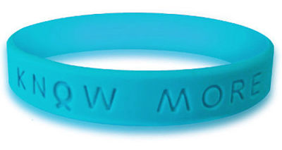 Teal Awareness Bracelet