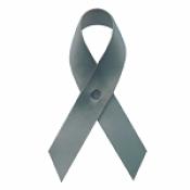 Graphite Fabric Awareness Ribbons