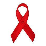 Red Fabric Awareness Ribbons