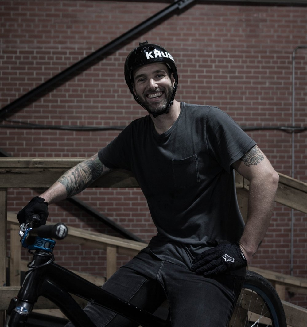 Geoff Johnson   Sport: DH/MTB Birthday: April 2nd, 1984 From: Toronto Beaches, Ontario. Canada