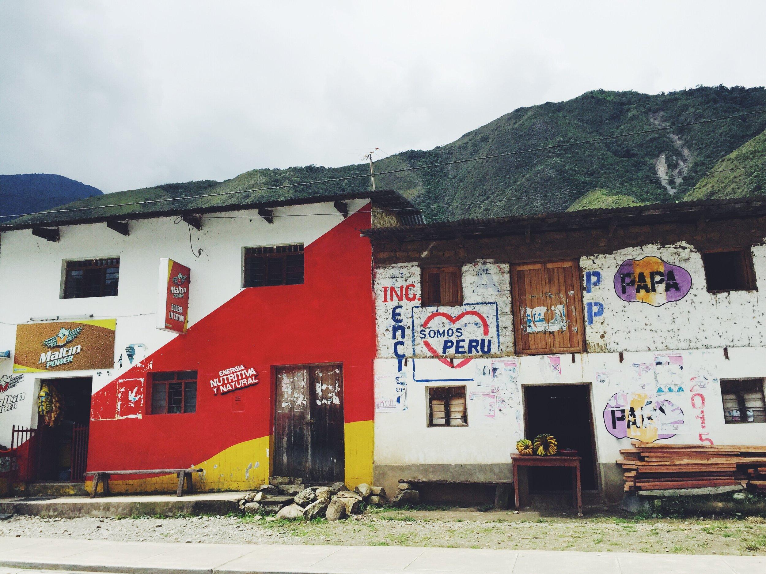 Peru, so beautiful in every way.