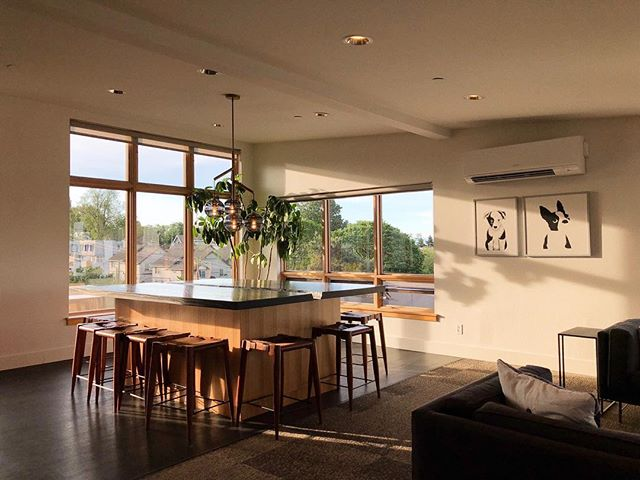 Beautiful spaces and morning light for the win.
