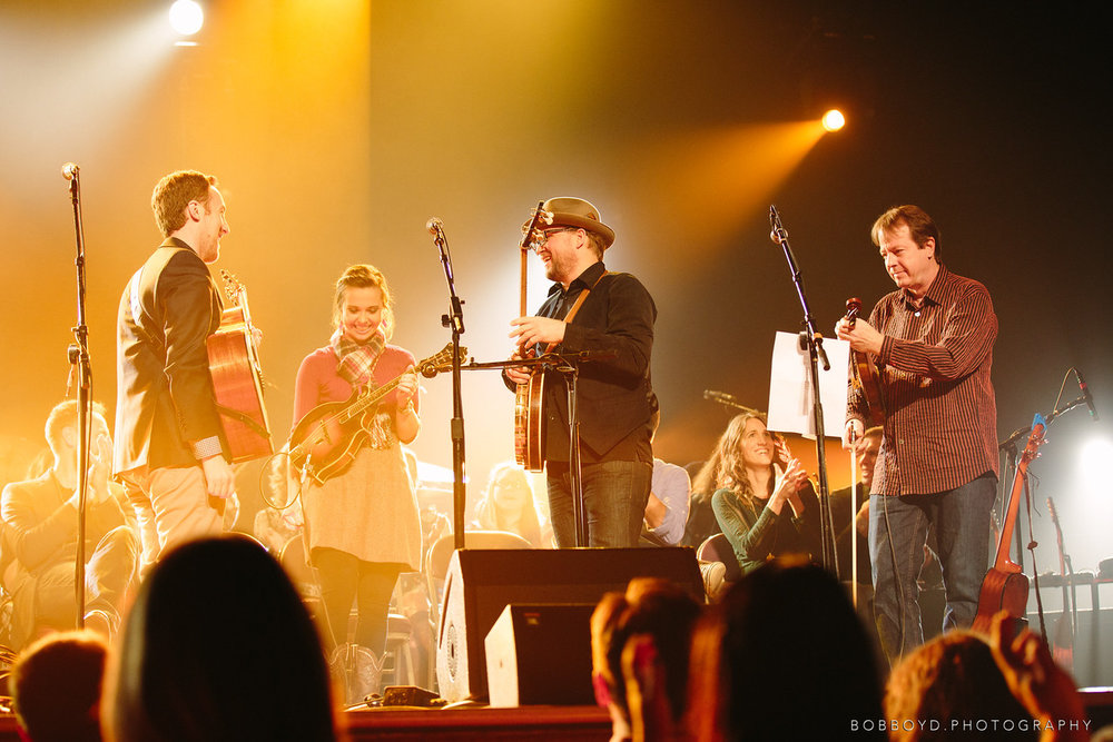 Ryman Auditorium with Sierra Hull, Ron Block and Stuart Duncan