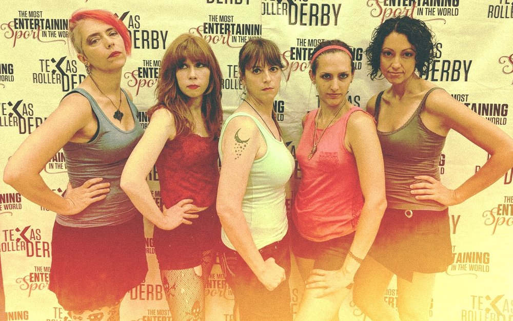 Miss Guilty Roller Derby