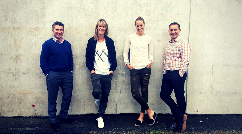 Left to right: Cube Business Development Manger Jason Watkins, Directors, Kelly Good, Arna Craig and Alistair King