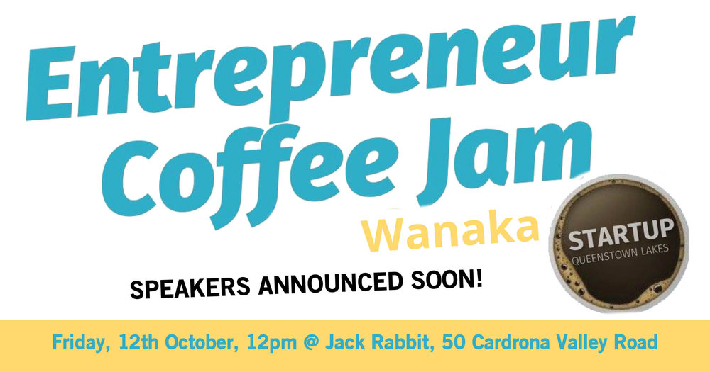 Startup Queenstown Lakes invites Wanaka entrepreneurs to a lunchtime social and learning event from 12.00 to 1.00 pm. to connect and meet with other startup enthusiasts in the region -  Click for more…..
