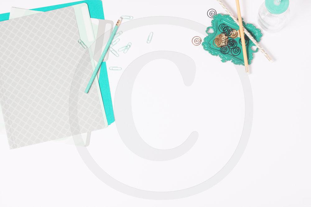 freestyledstockphotosturquoisewhitegoldpencils(C).jpg