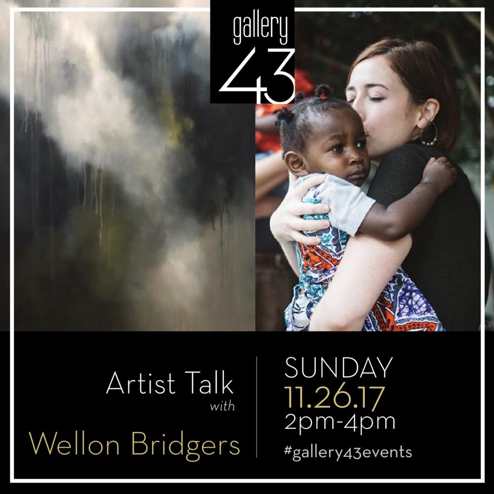 Artist Talk, Wellon Bridgers