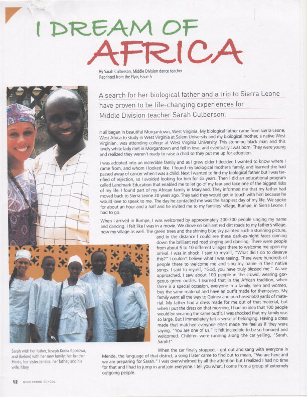 I Dream of Africa (pg. 1)