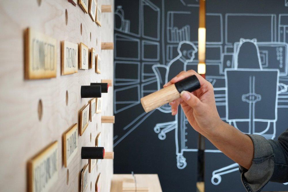 - 300 Grant Research Pop-up-Interior Design & Installation